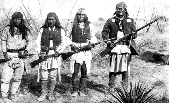 Geronimo Native Heritage Project - Where was geronimo on a us map