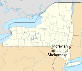 Moravian map