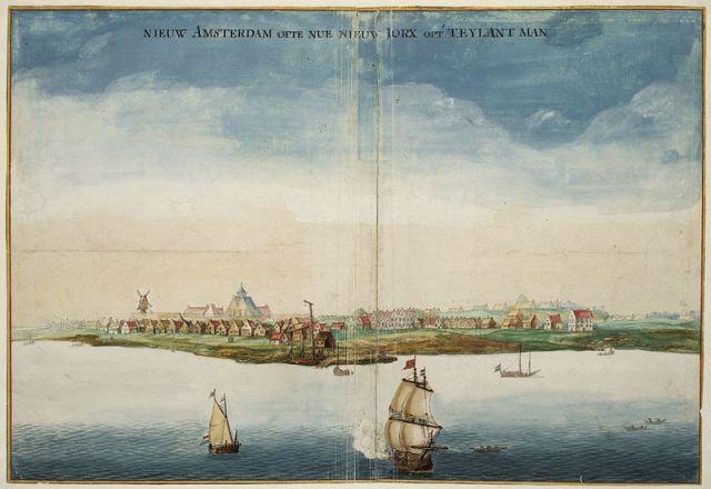 New Amsterdam 1664