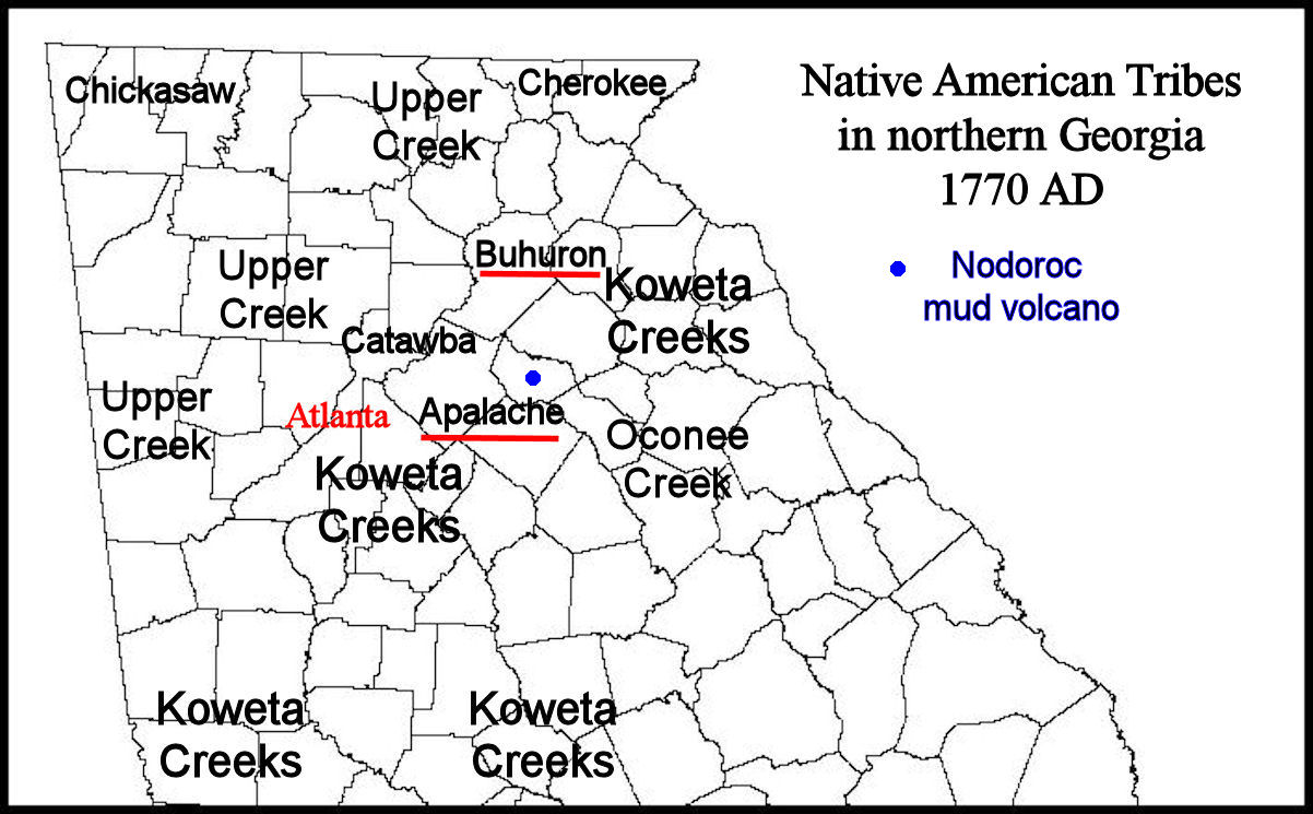 The Mysterious Bohuron Tribe in Northeast Georgia | Native ...