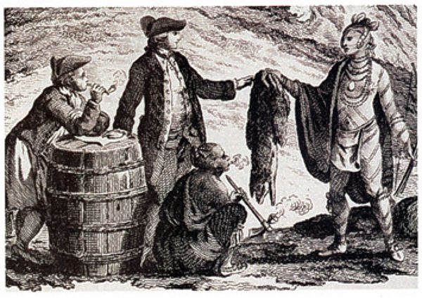 Fur trader Canada 1777