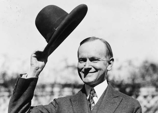 Hat tip - Calvin Coolidge