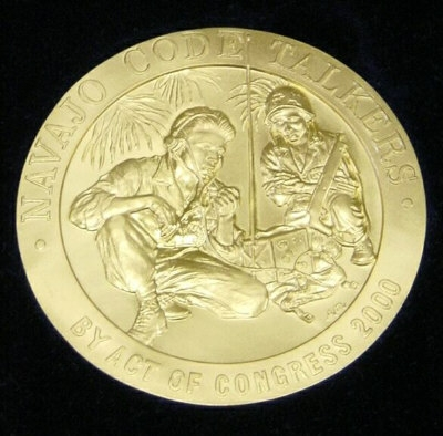 Navajo codetalkers medal of honor