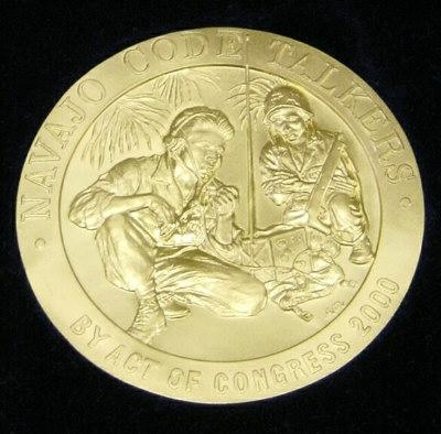Navajo codetalkers medal of honor