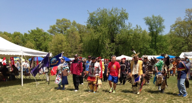 Powwow All Veterans 5-2013 grand entry