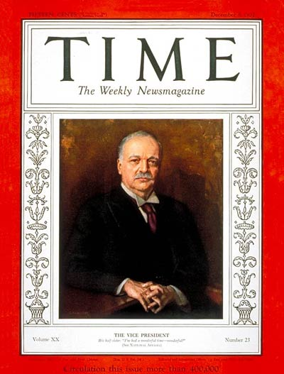 charles curtis on time