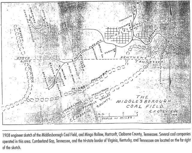 Mingo Bussell map