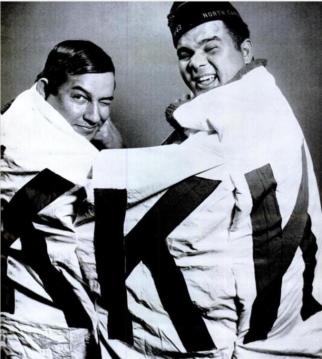Lumbee in KKK Banner