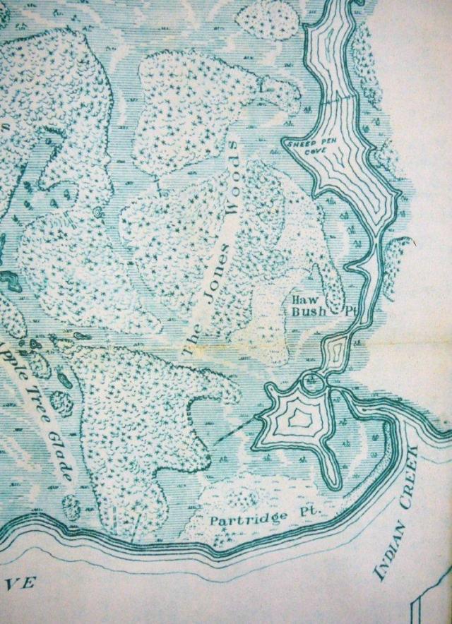 1923 Mackay Is. topo map - Joseph Knapp (3)a