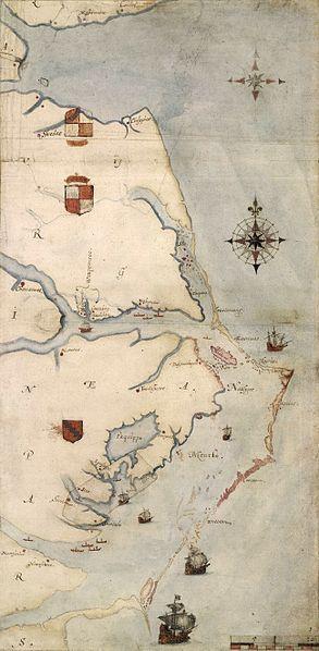 John White map