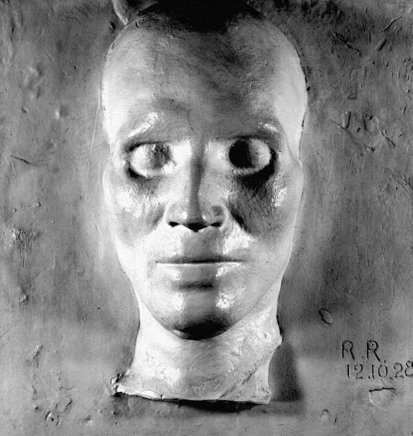 Osceloa death mask