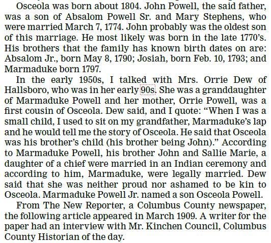Osceola Powell 3