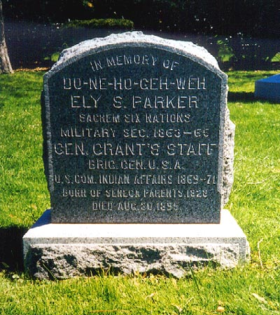 ely parker grave