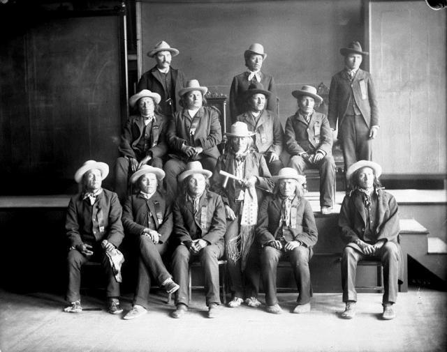 1888 standing rock delegation