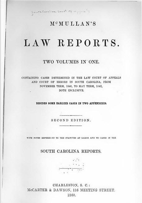mcmullan's law reports