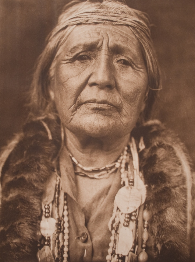 Curtis Hupa woman