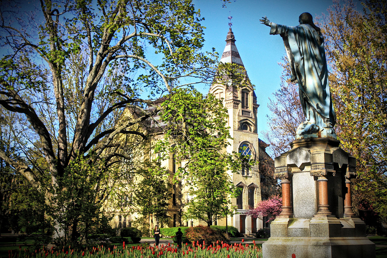 ... the Indian Legend of Notre Dame University | Native Heritage Project